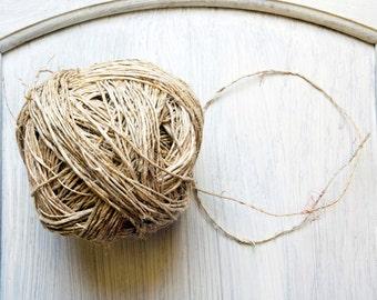 Hemp Yarn in Natural