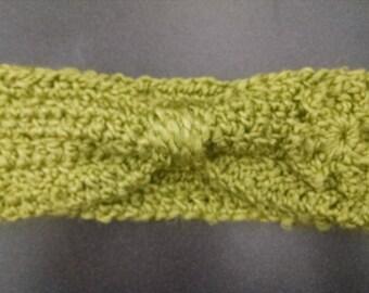 Crocheted St. Patty's Headband