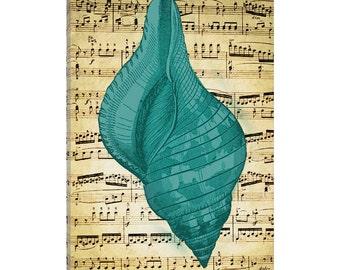 iCanvas Blue Sea II Gallery Wrapped Canvas Art Print by Natasha Westcoat