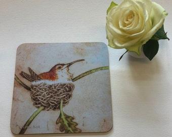 HAPPY HUMMINGBIRD teapot stand