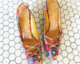 The Most Adorable Flower Shoes