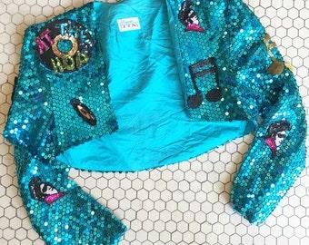 Elvis Cropped Jacket sz M