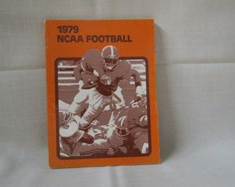 Sale 1979 Football Guide Media Guide Press Radio TV Guide NCAA Collegiate Football Guide Vintage