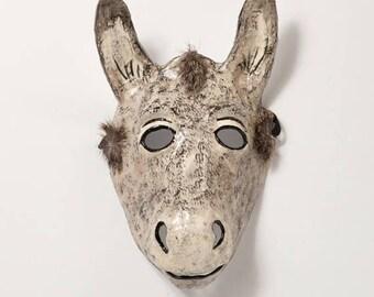 donkey paper mask