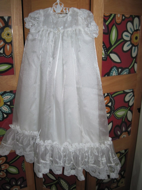 Items similar to Christening Gown LDS Blessing Dress
