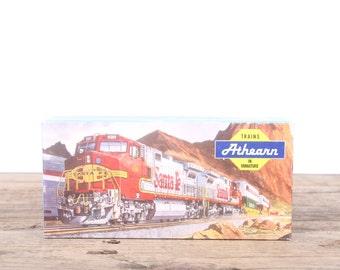 Vintage Model Train / Athearn Chesapeake & Ohio 1329 / HO Model Trains / Electric Train Set Car