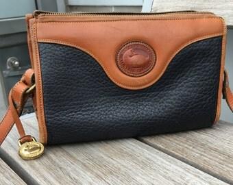 Dooney & Bourke Vintage All Weather Leather Zip Top