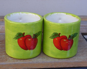 Set of Apple Mugs