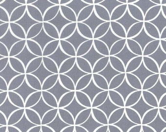 Michael Miller fabric by the yard Tile Pile Gray 1 Yard