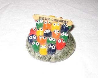 1970s Rock Concert Paper Weight Pet Rock
