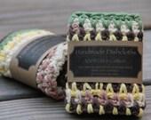 Crochet Dishcloth, Cotton Dishcloth, Cotton Crochet Dishcloth, Kitchen Dishcloths, Dish Rag, Wash Rag, Crochet Dishrag, Mrs Vs Crochet