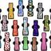 "Cloth Pad Complete Set - Plus Size (Three 10"" Light, Ten 12"" Moderate, Five 14"" Heavy)"