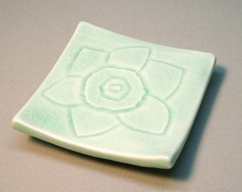 Small Porcelain Serving Plate