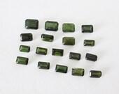 Natural Green Tourmaline Mixed  Lot 8.15cttw