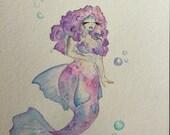 Curvy Mermaid - Betta (commission)