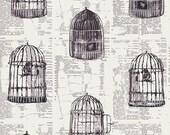 AGF Wonderland Yardage - Uncaged Words Linen