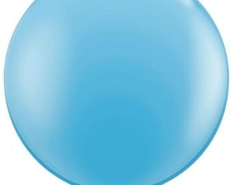Light Blue 36 inch Balloon--GIANT-helium quality