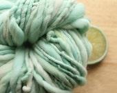 Mountain Mint - Handspun Merino Wool Yarn Aqua Bulky