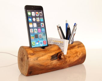 iPhone 6 / 7 Dock - Pen Holder - Card Holder - all in one (desk accessory / office accessory / office organizer)