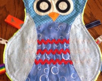 Owl Taggie Blanket