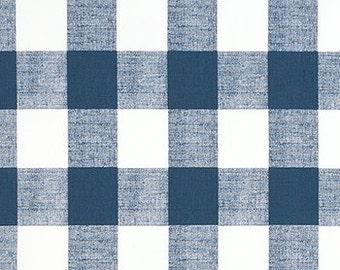 Comforter - Navy Buffalo Check - Twin, Full, Queen