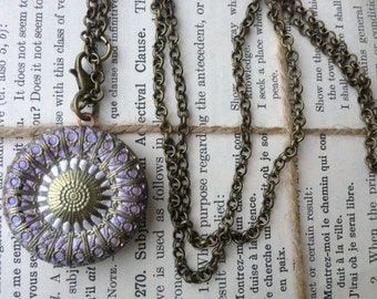 Victorian Style Filigree Locket