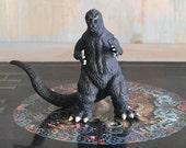 Vintage Godzilla Toy Bandai Gashapon Small Action Figure