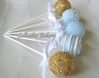 Cake Pops: Little Prince Cake Pops Made to Order with High Quality Ingredients, 1 Dozen Cake Pops