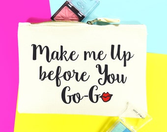 Make Up Bag, Best Friend Gift, George Michael, Wham, 80s Child, Cosmetic Bag, Make Up Organizer, Cosmetic Pouch, Gift for Her, Friend Gift
