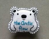 The Arctic Flow (Polar Bear) felt badge