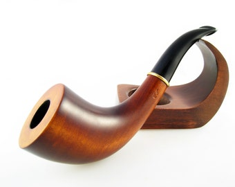 "Smoking Pipe/pipes Tobacco pipe Wooden tobacco pipes ""English Horn"" Hancrafted Wood pipe/pipes"