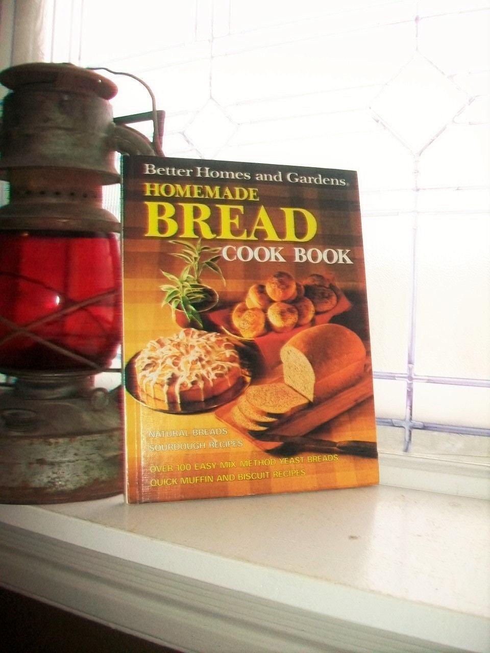 Vintage cookbook homemade bread better homes and gardens - Vintage better homes and gardens cookbook ...