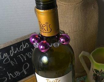 Wine Bottle Choker Jewlery Set