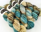 superwash {chunky} | QUARRY | ready to ship | hand dyed yarn | superwash merino