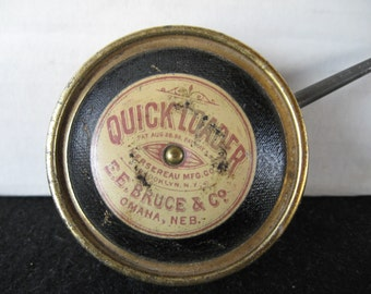 Vintage 1800's Quick Loader Tin By E.E. Bruce Co