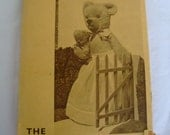 Vintage 30s Toymaking Book Dressed Soft Toys by Edith Moody The Dryad Press Mrs Bear and Baby Rabbit Pig Lamb Doll Teddy Glove Koala