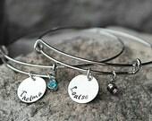 Best Friend Bracelets - Thelma and Louise Bracelet - Sisters Bracelets - Set of TWO - Sister Christmas Gift - Best Friend Christmas Gift