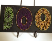 BOO string art