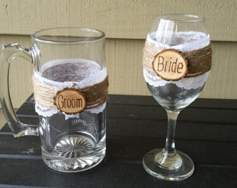 wedding glasses etsy