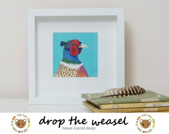 Pheasant - Limited Edition Framed Fine Art Print