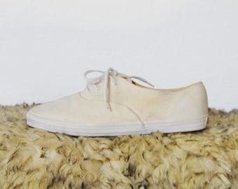 80s Classic Cream Sneakers US 8.5 / EU 39