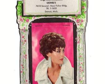 Vintage 1969 Hairstyles Desk Calendar Leonel's Detroit Michigan