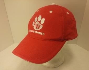 Vintage 1990s Trucker Ball Cap - Wolverines - Football, Missouri, Rockabilly, Retro, Mens Accessories