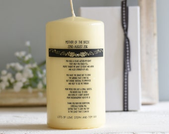 Candle for Mother of the Bride/Groom