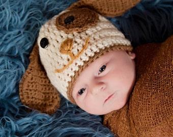 Newborn Puppy Hat
