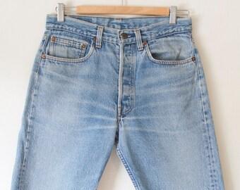 Levi Cut Off Denim Shorts