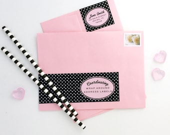 Coordinating Wrap Around Labels