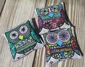 Owl Bean Bags - Set of 3