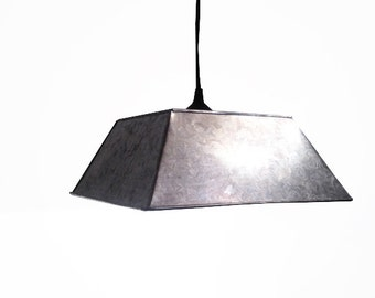 Sheet Metal Pendant Light