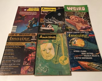 24 1960s science fiction magazines